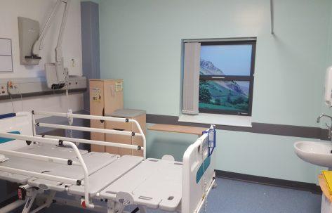 new hospital room