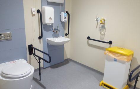 new hospital toilet