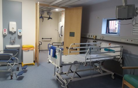 renovated hospital room