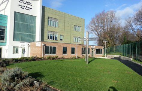 new high school building