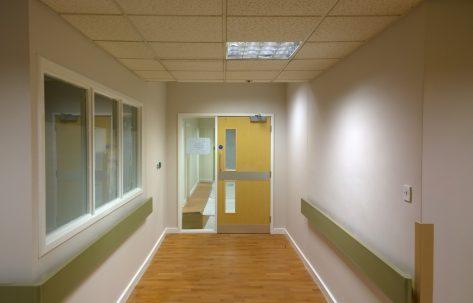 corridor wood floor