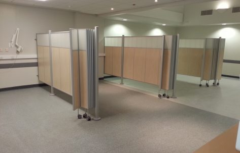 hospital moving walls
