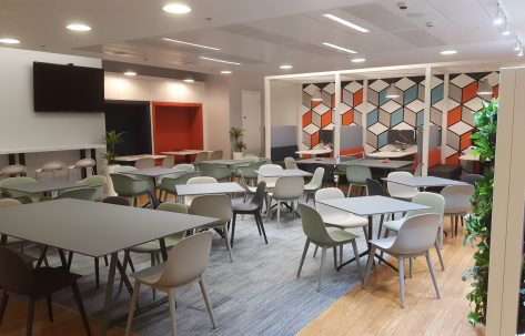 work place canteen