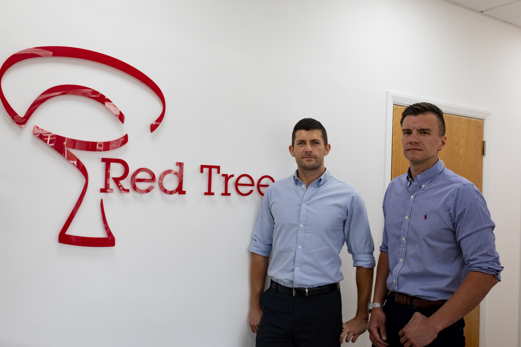 Founders of Red Tree Building Contractors Tom and Matt