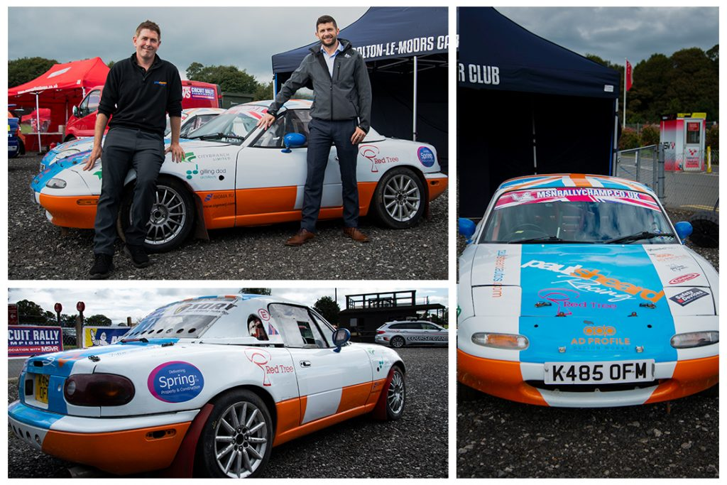 Sheard Autosport Sponsorship