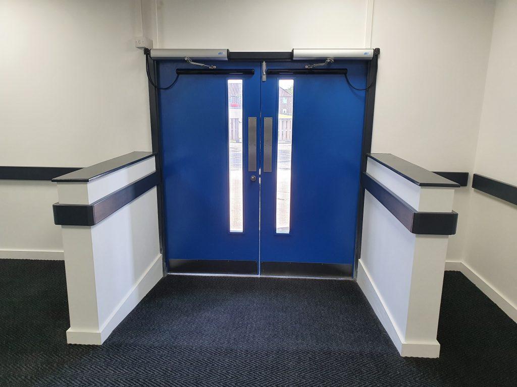 Helipad INT Door Set Aintree Hospital