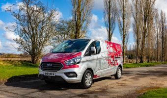 New Hybrid Van 2020 with new livery