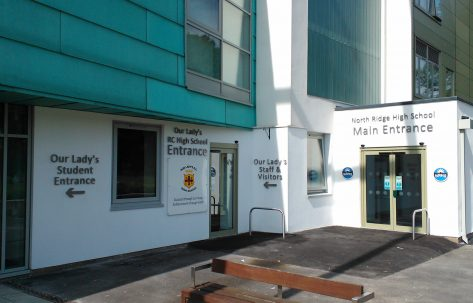 New Reception Entrance and Refurb Works